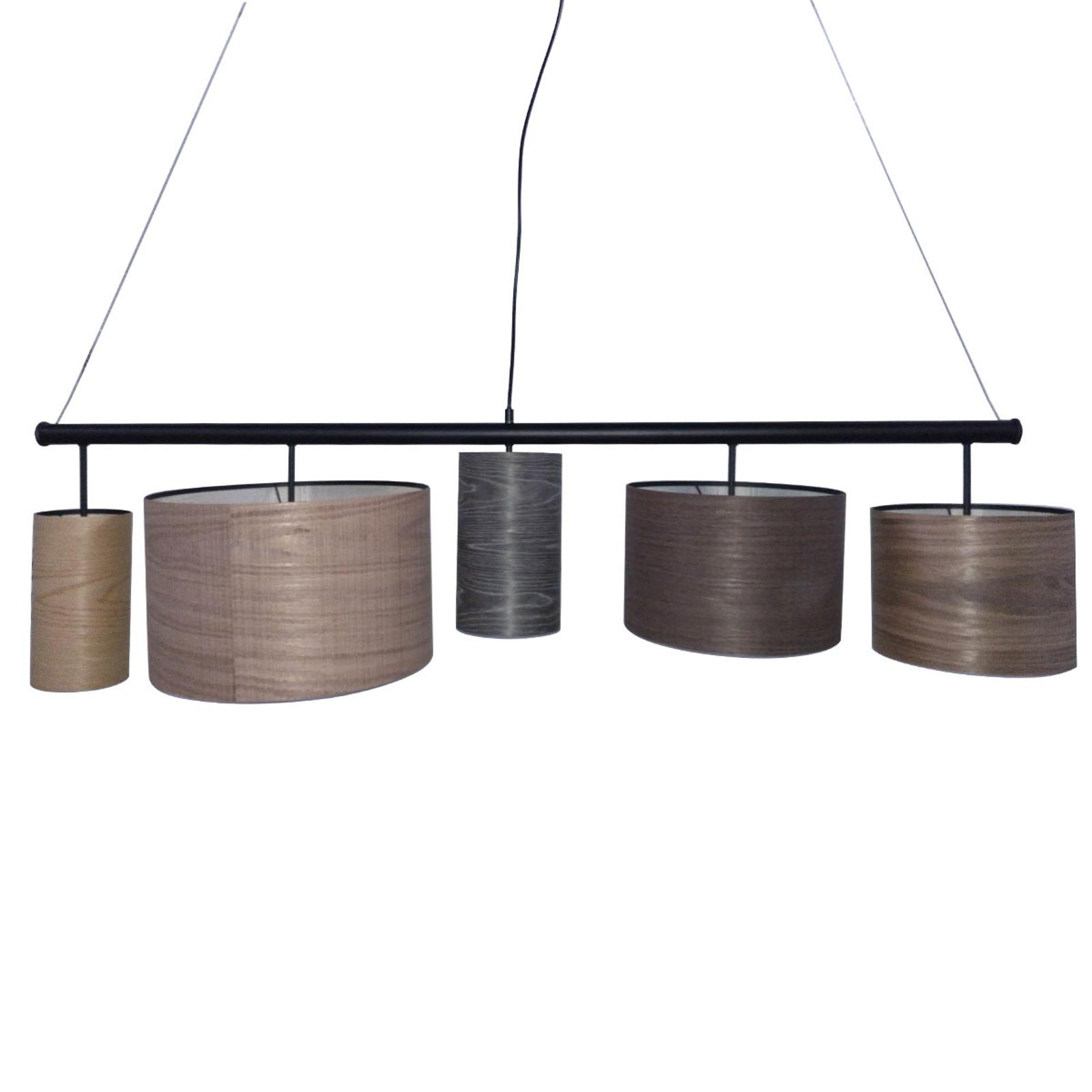 KARE Parecchi Wood Colore hanglamp