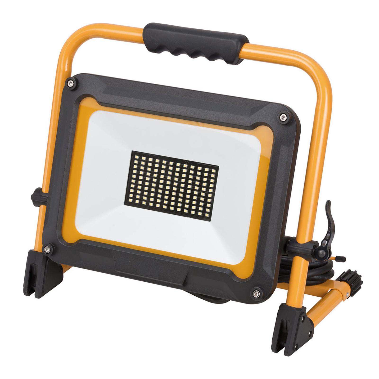 LED-Bauscheinwerfer Jaro, mobil, IP65 80W