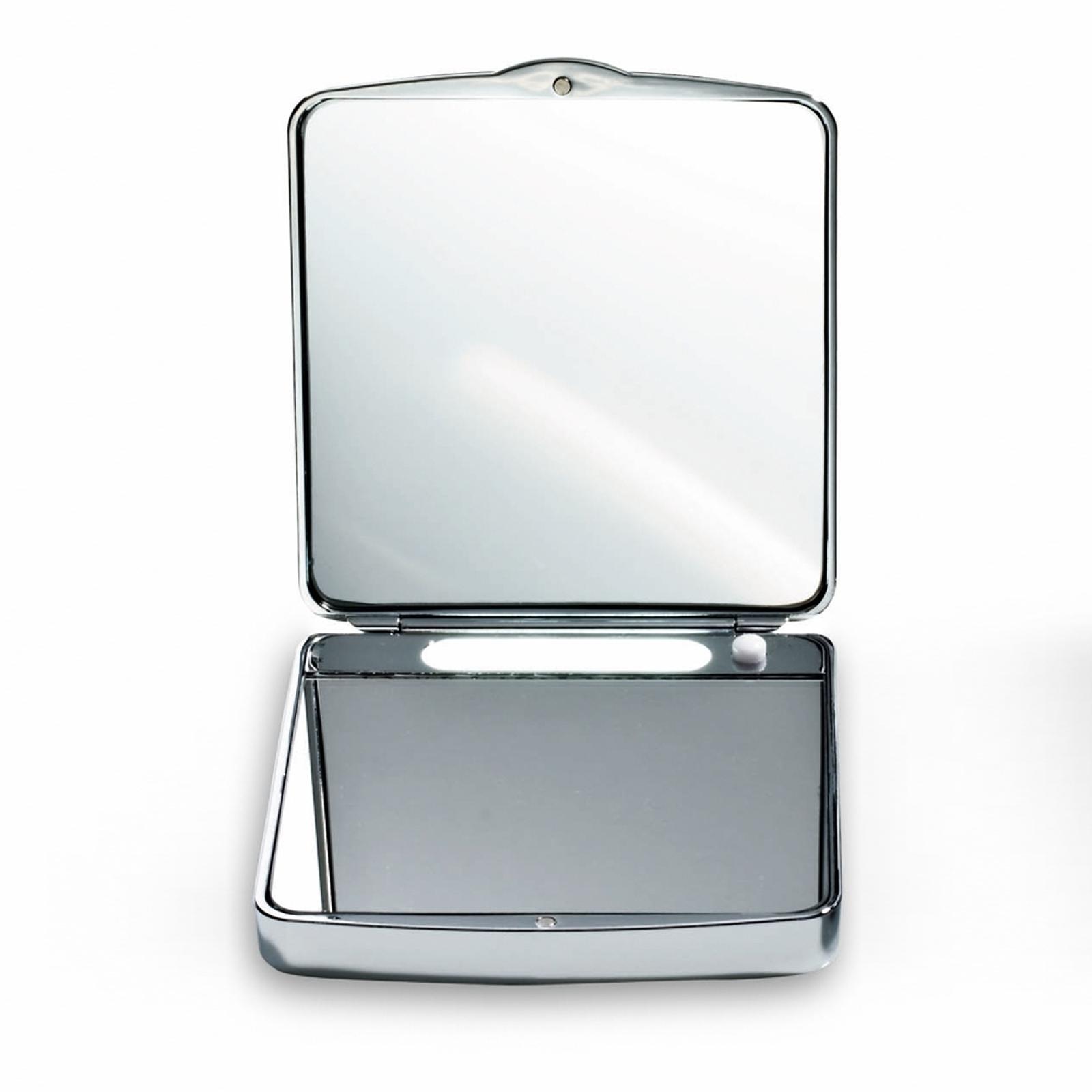 Tasspiegel met verlichting TS 1