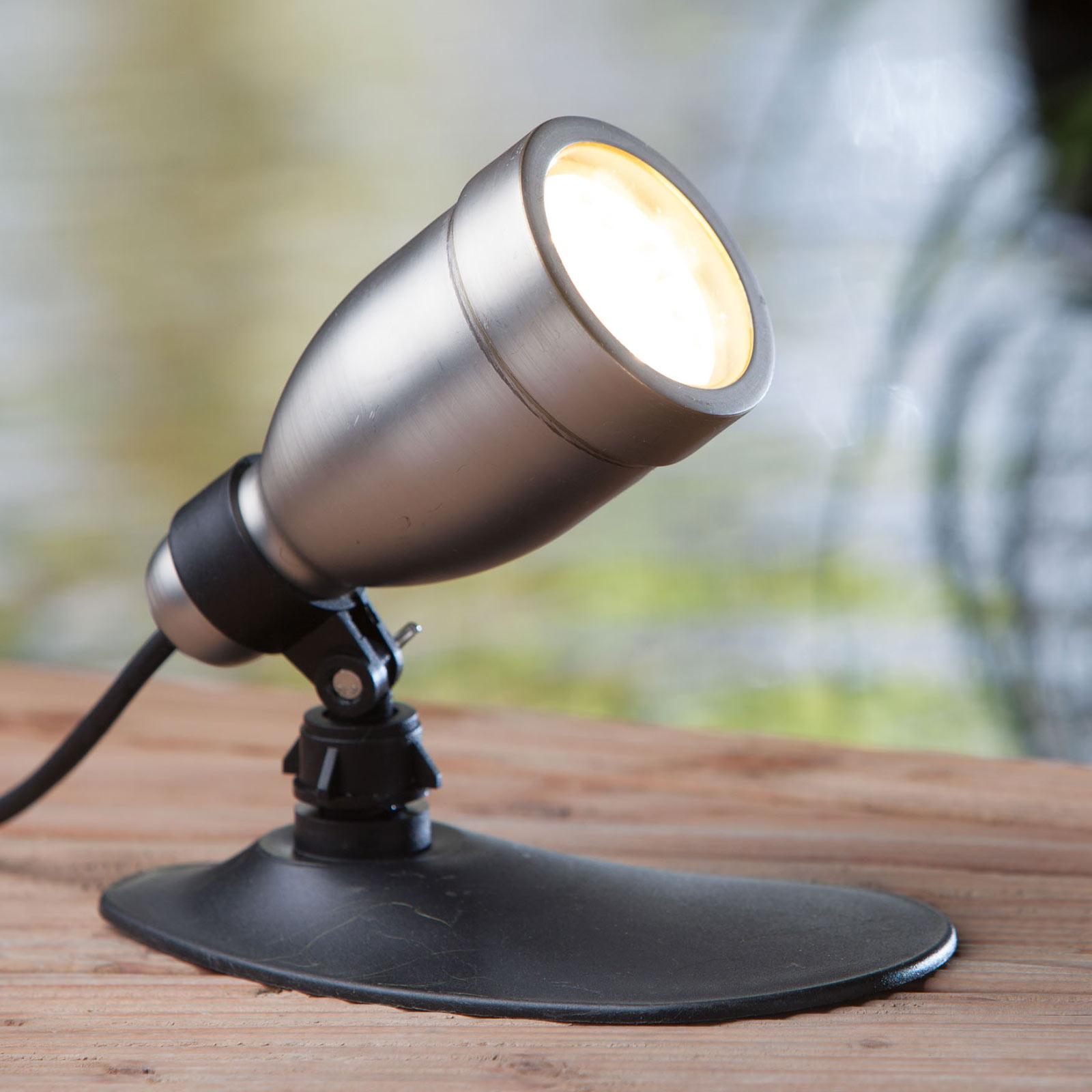 HEISSNER SMART LIGHTS LED-spot, sølv, 6 W