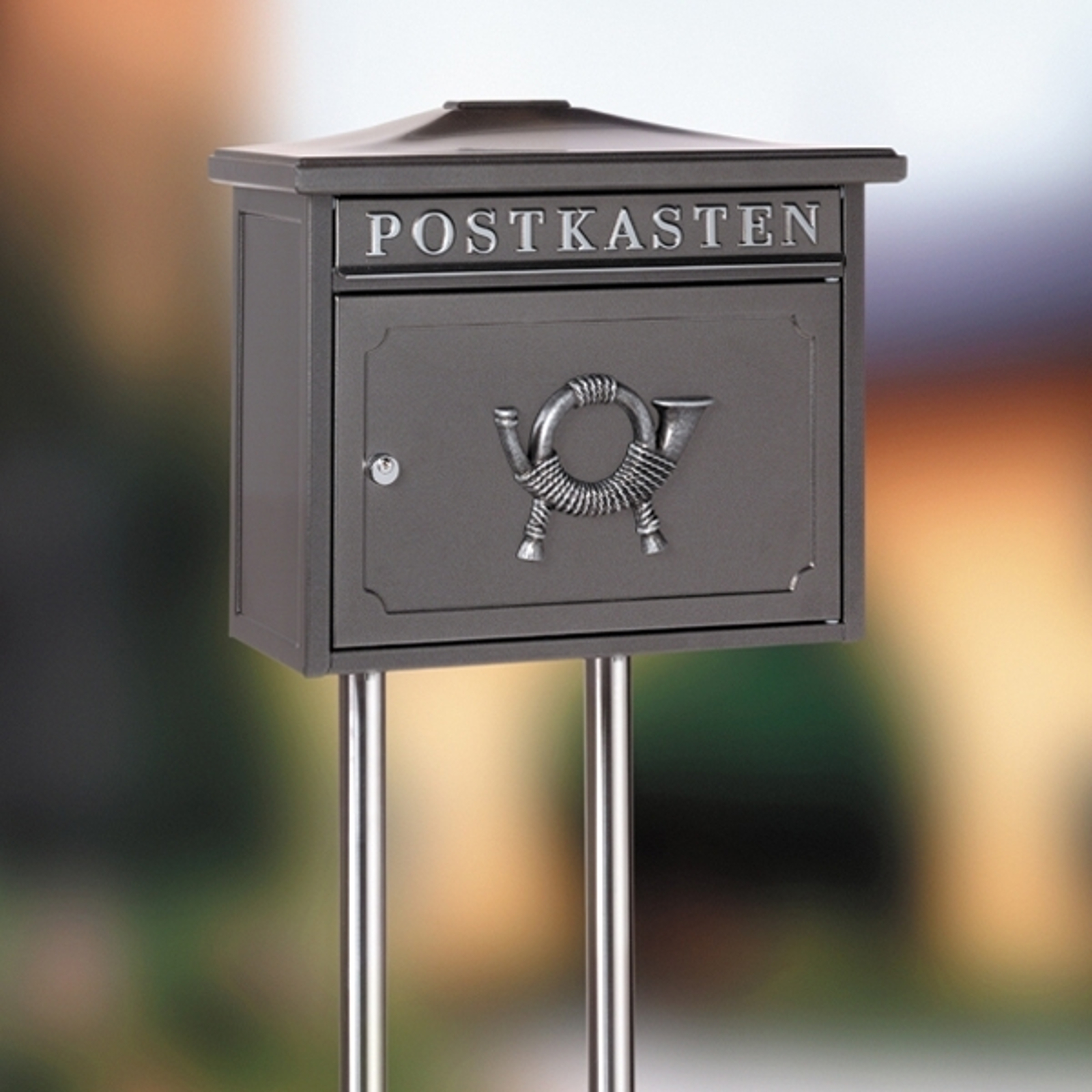 Briefkastenständer Universal 150, Edelstahl