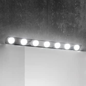 Lámpara de espejo LED Hollywood, 85cm 7 luces