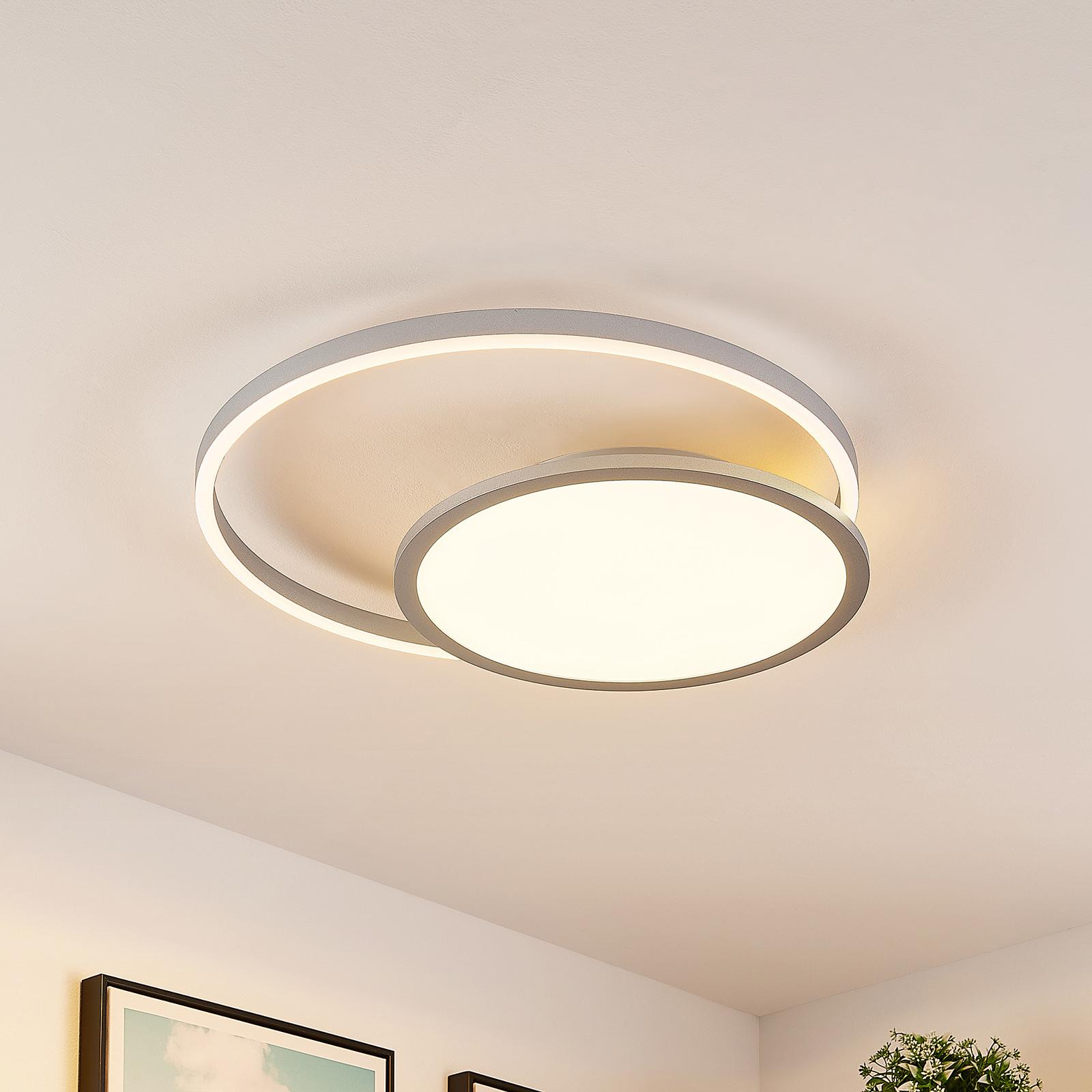 Lucande Irmi lampa sufitowa LED, CCT