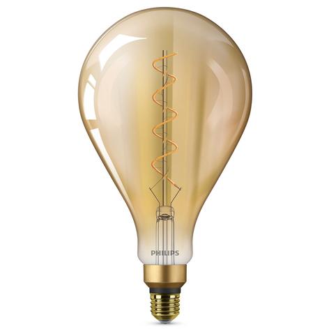 E27 5W bombilla LED Giant, blanco cálido dorado