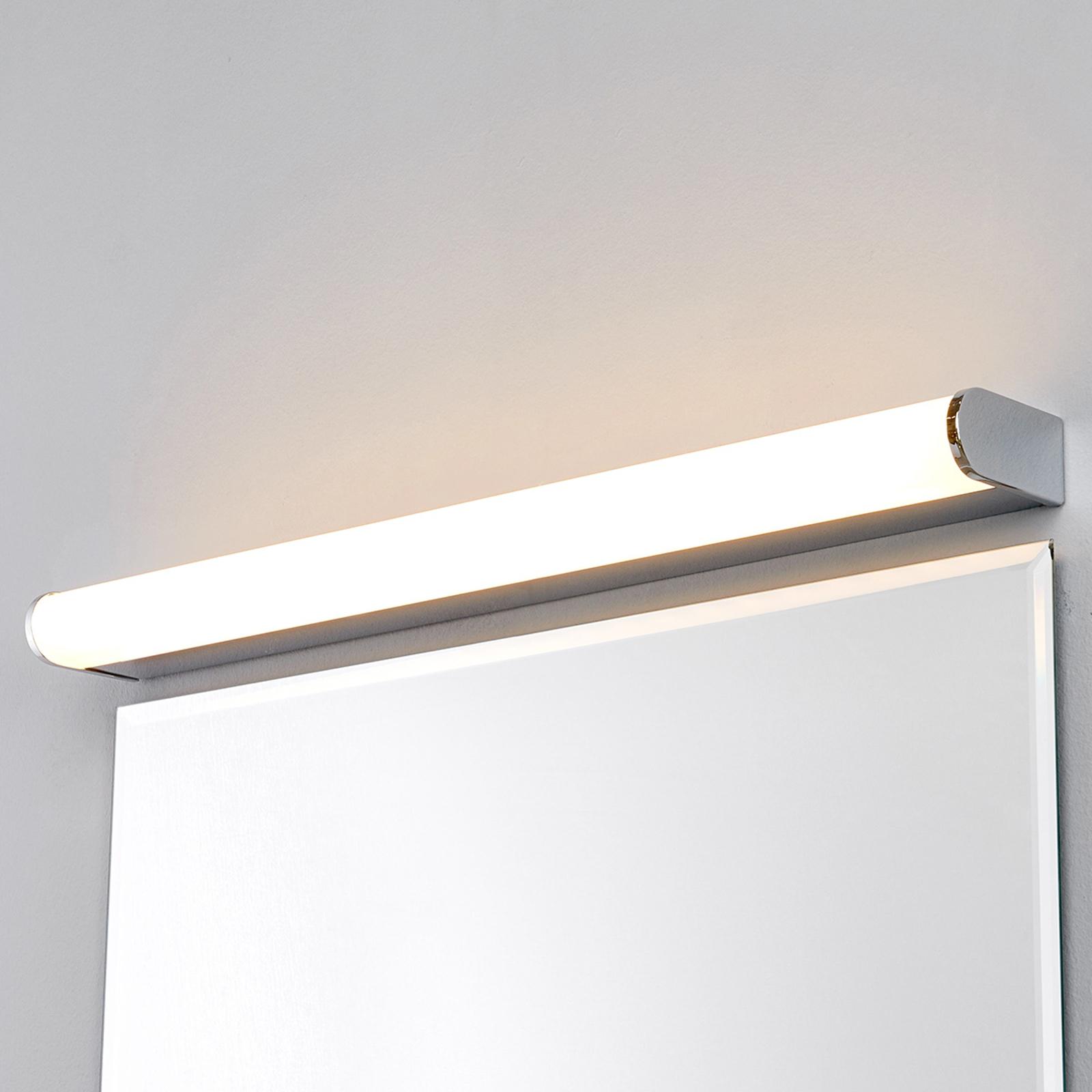 Lampada LED Philippa da bagno, semicilindro 58cm