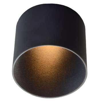 GF design Tubo Einbaulampe IP54 schwarz