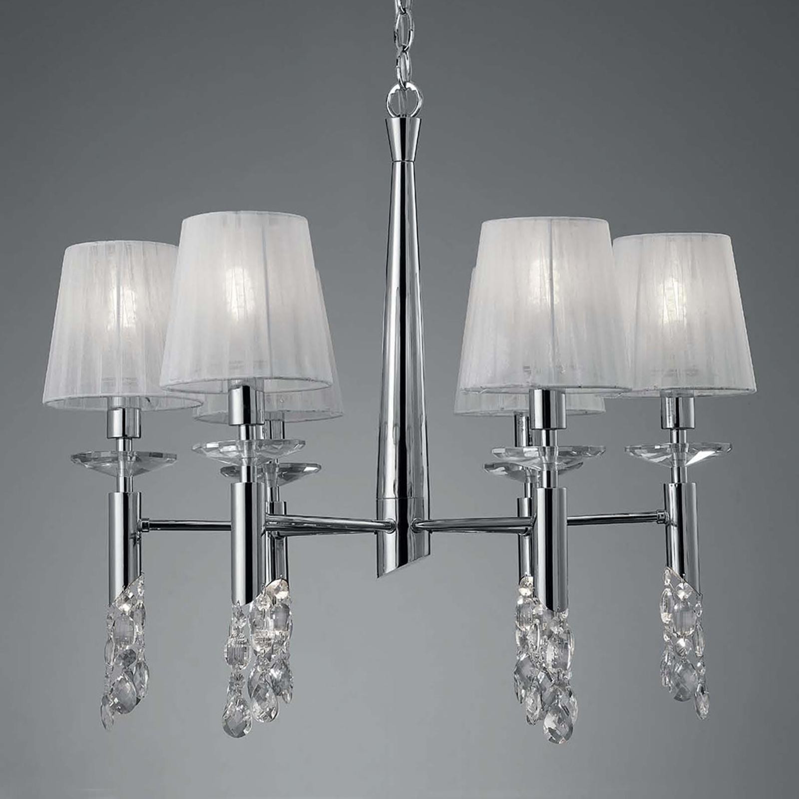 Kroonluchter Lilja 6-lamps