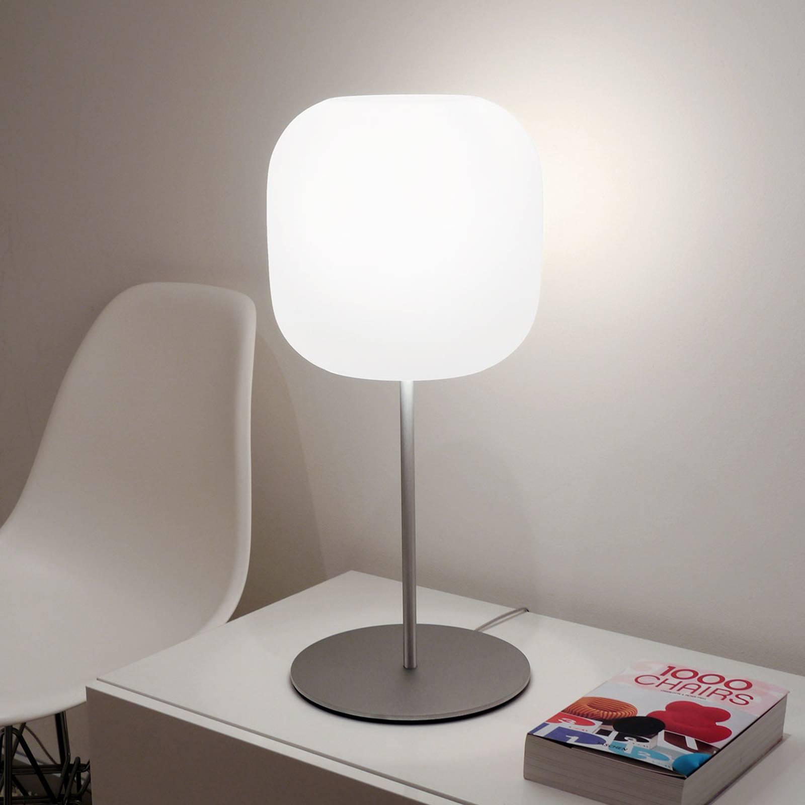 Casablanca Murea lampe à poser verre dimmable