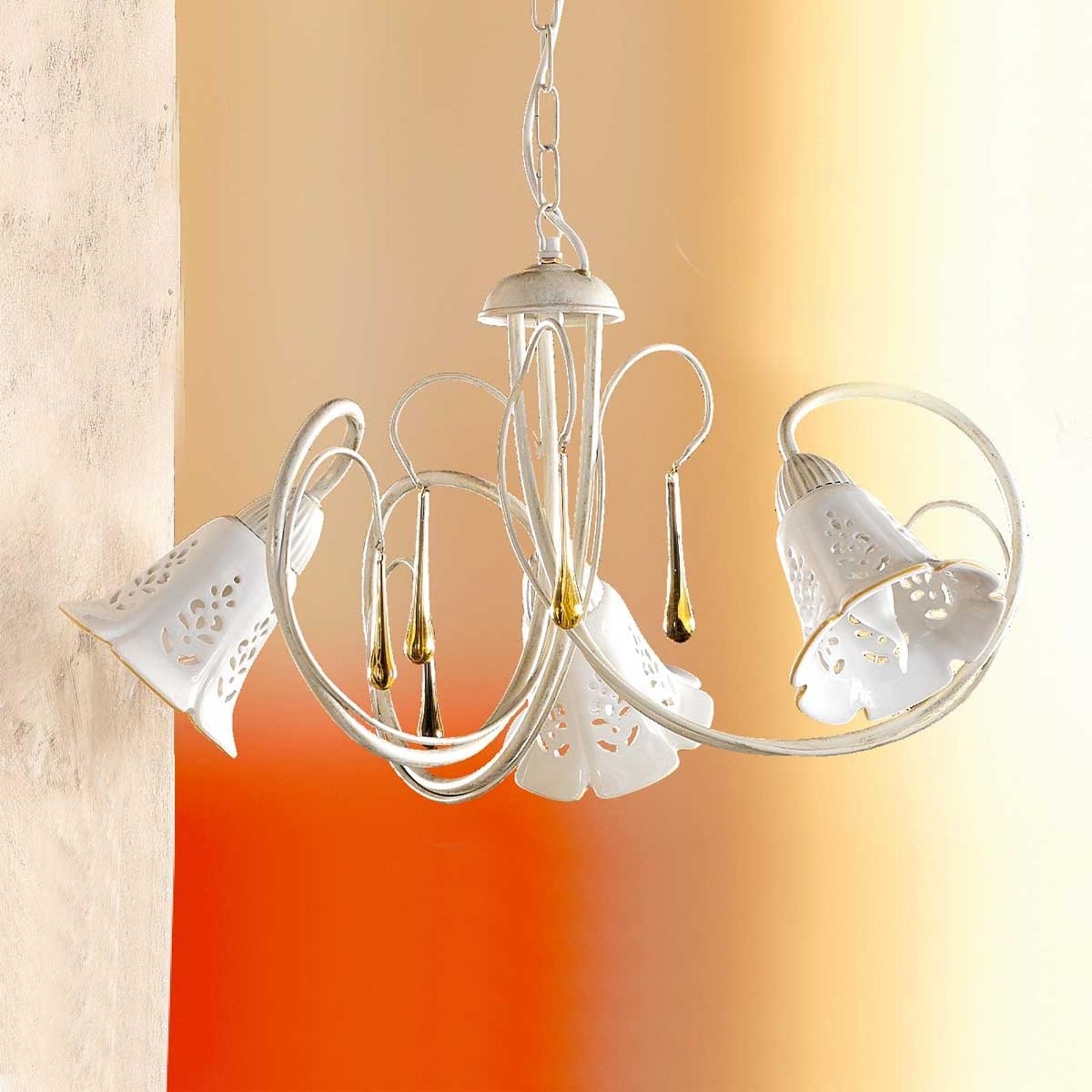 Závěsné světlo Gocce 3zdrojové