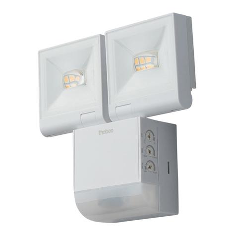 Theben theLeda S20 spot 2 lampes capteur 4000K