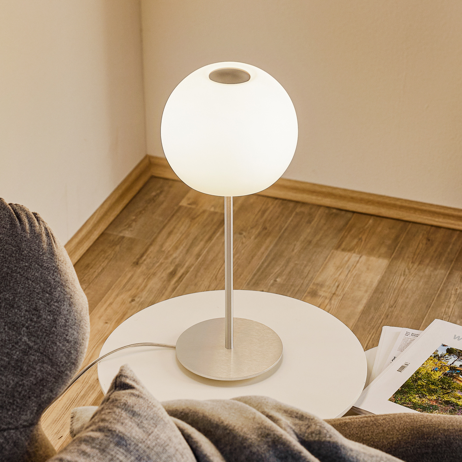 Casablanca Ball stolová lampa, výška 49 cm_2000312_1