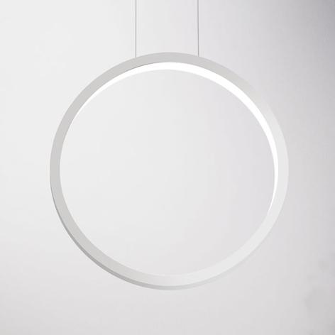 Suspension design LED Assolo, blanche