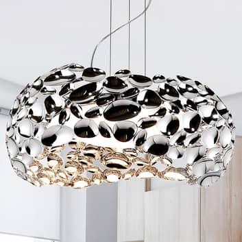 LED-Hängeleuchte Narisa Ø 46 cm chrom