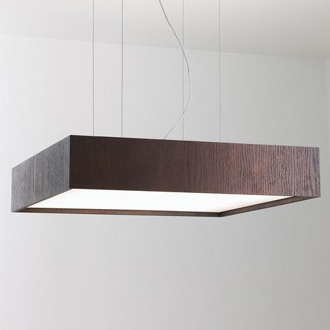Lámpara colgante Quadrat S con LED 60x60