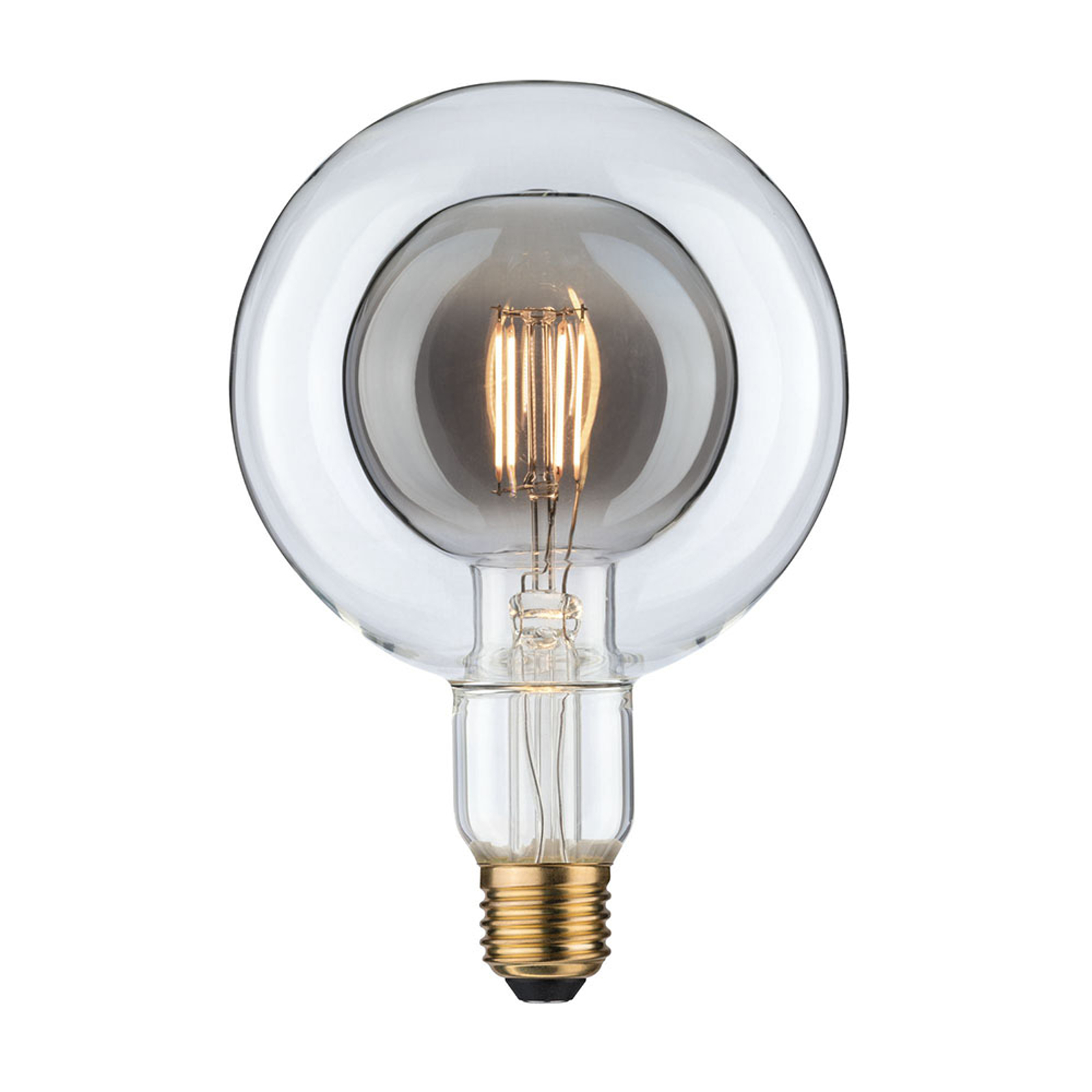 Paulmann LED-globe E27 G125 Inner Shape 4 W røyk