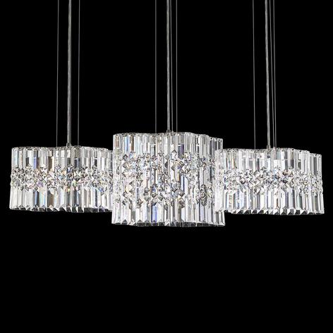 Swarovski Selene colgante LED de cristal, 100 cm