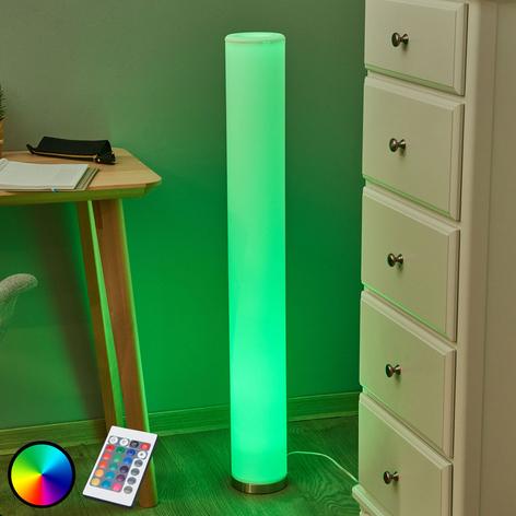 Piantana LED RGB Mirella a luce colorata