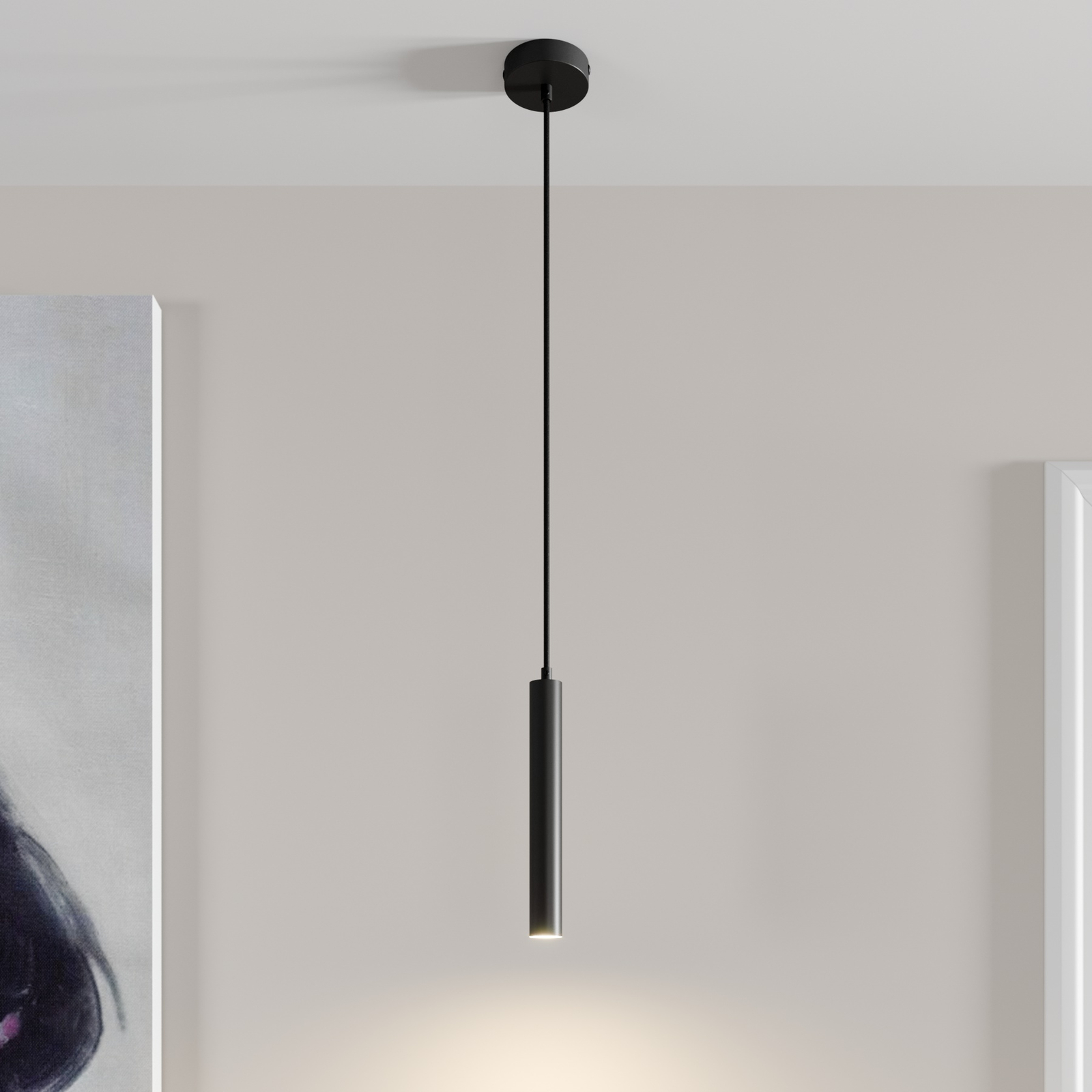Arcchio Franka lampa wisząca LED, 1-punktowa
