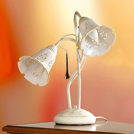 Czarująca lampa stołowa GOCCE