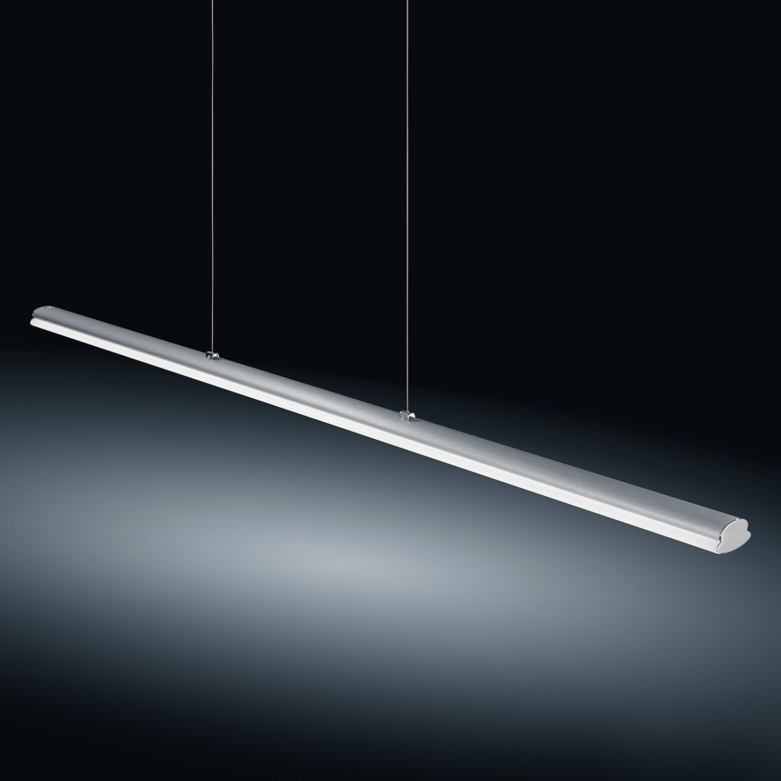 Suspension LED Venta nickel mat, 116,5cm, 22W