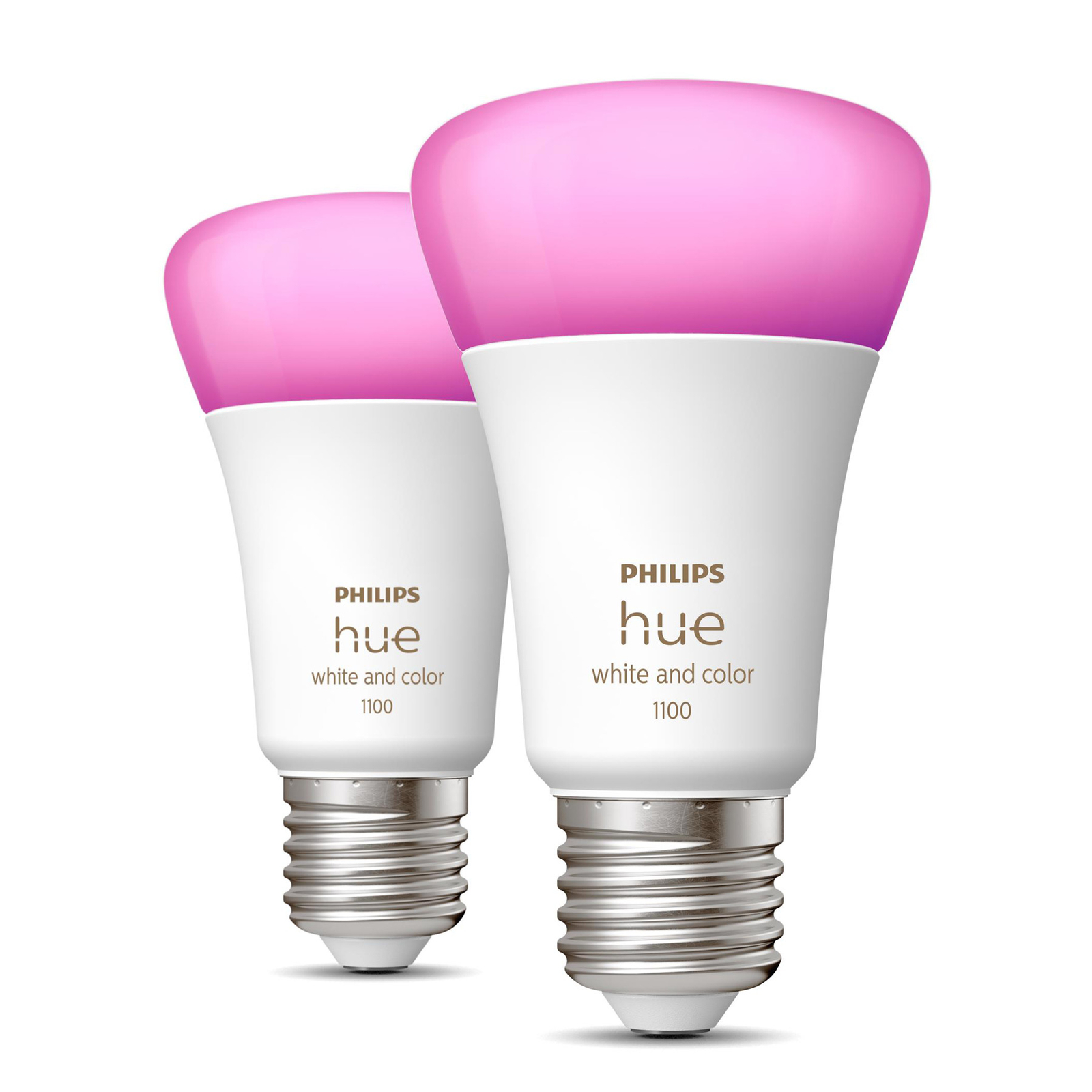 Philips Hue White&Color Ambiance E27 9W 1100lm 2er