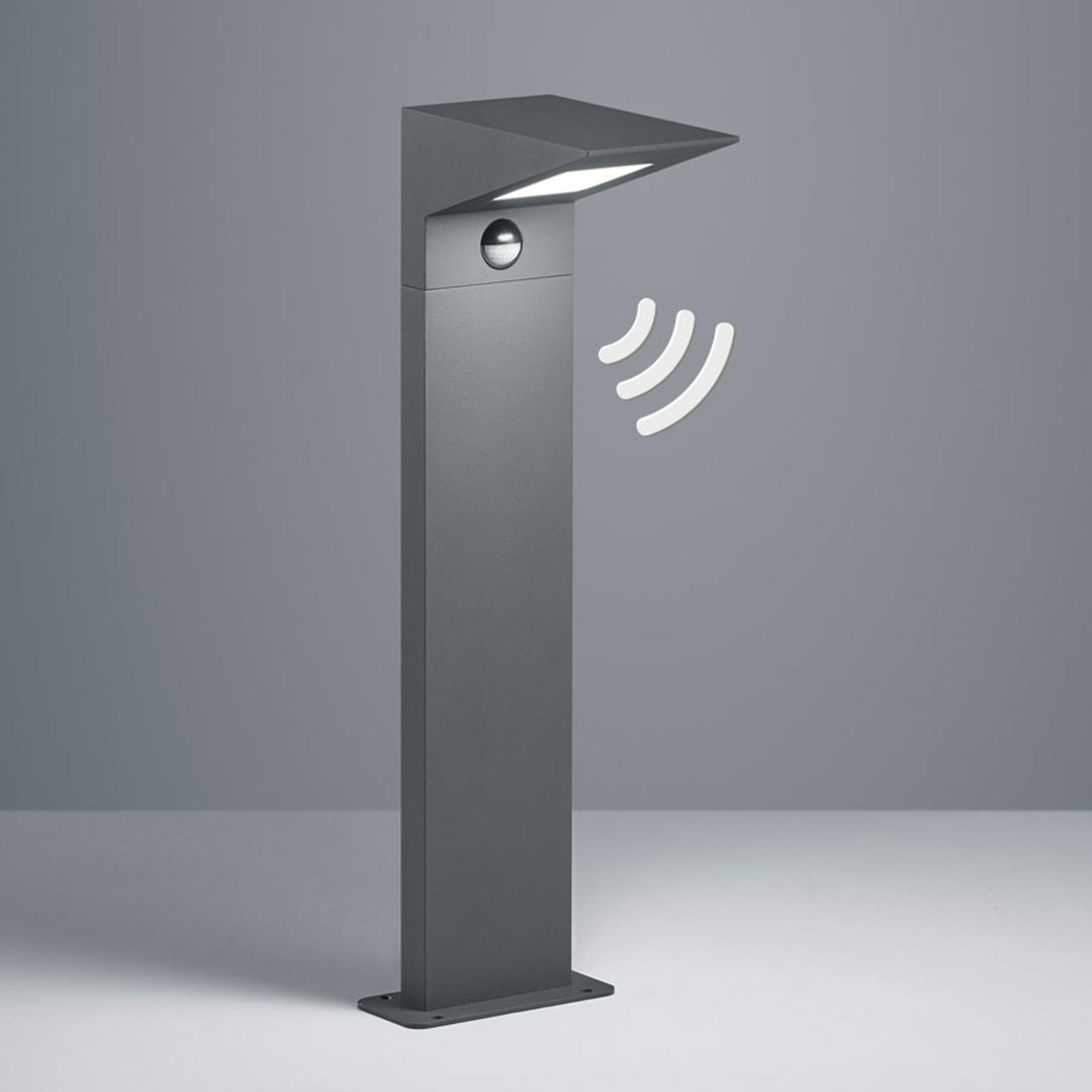 LED-Sockelleuchte Nelson, Höhe 50 cm, mit Sensor