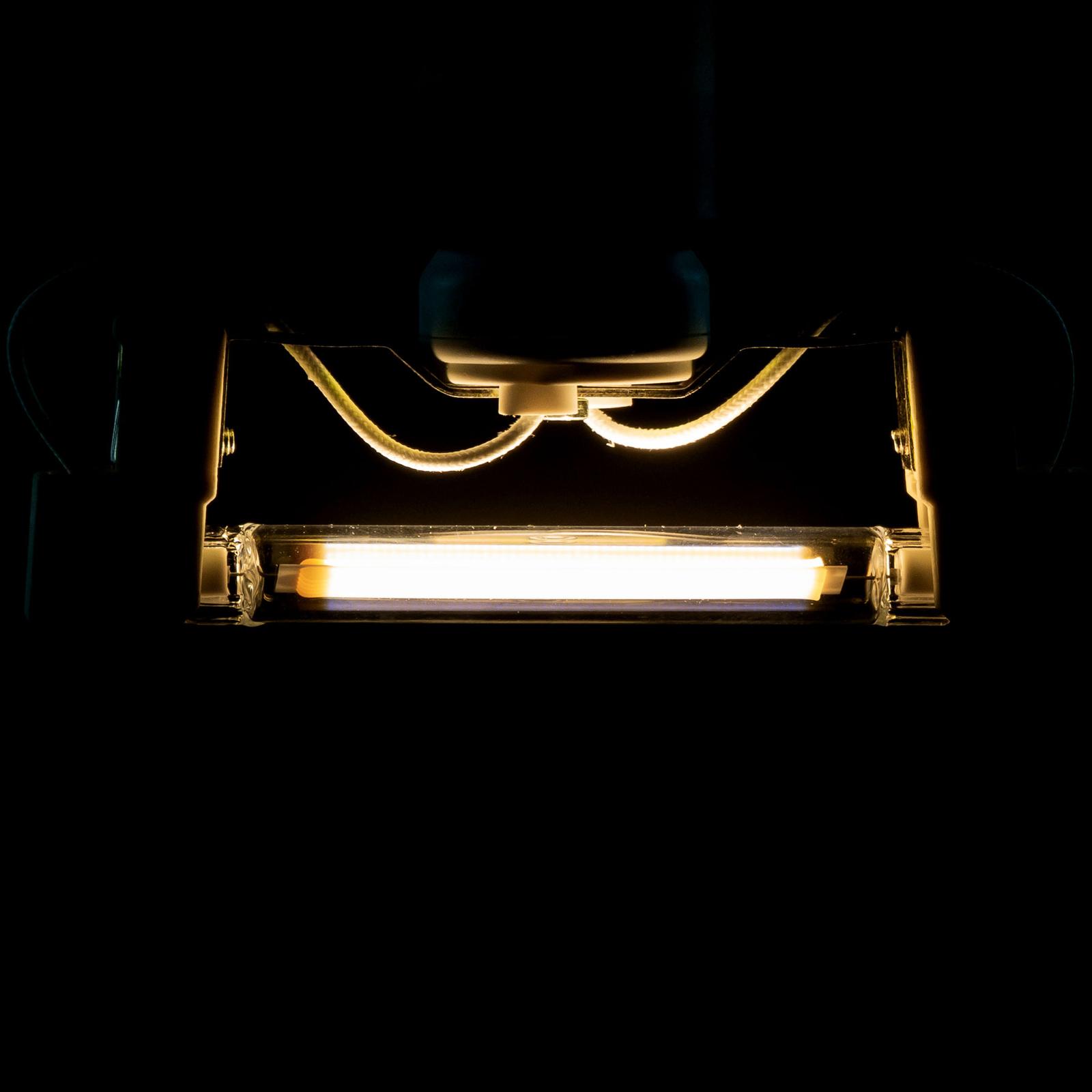 SEGULA ampoule LED R7S 118 7W blanc chaud