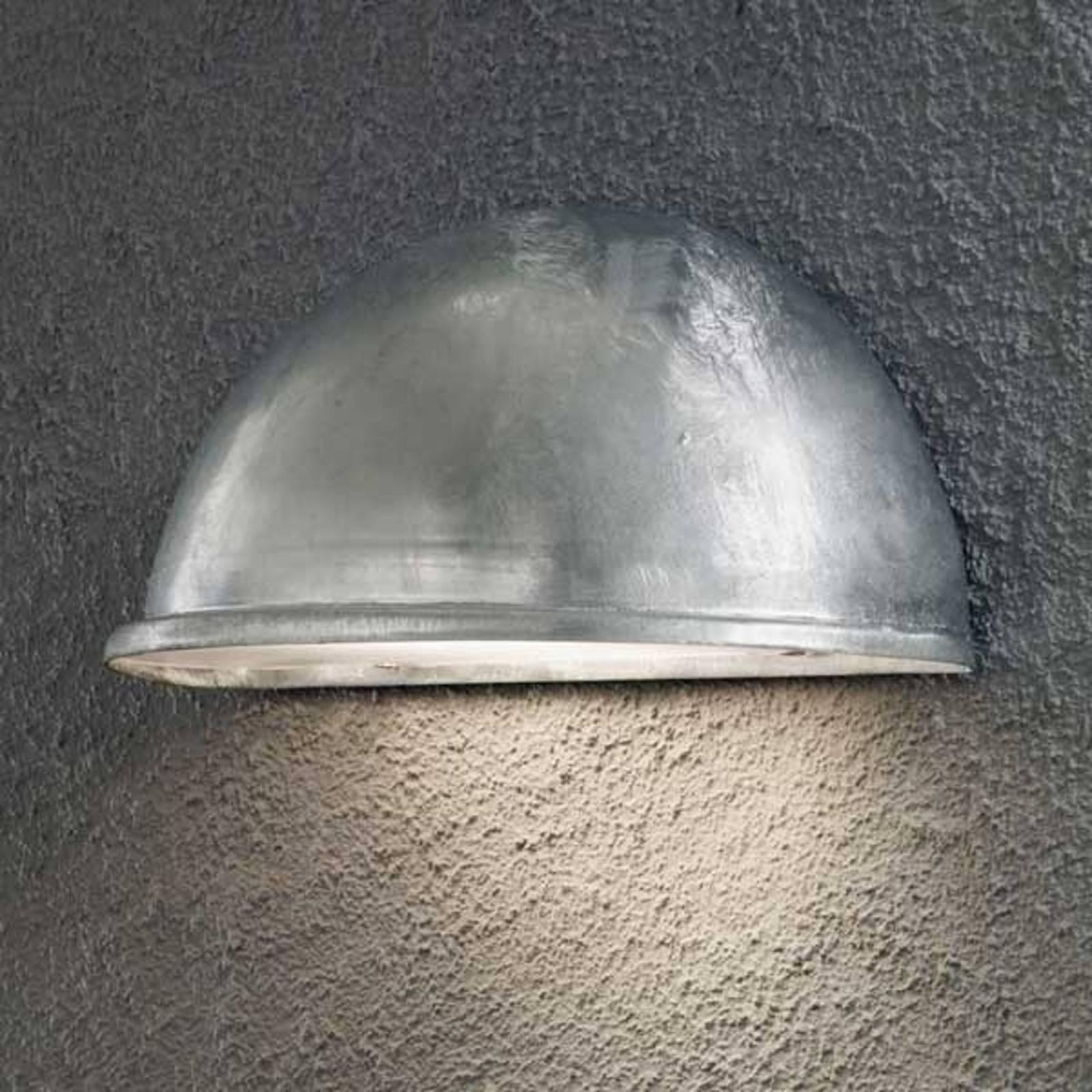 Zewnętrzna lampa ścienna TORINO E27 galwanizowana