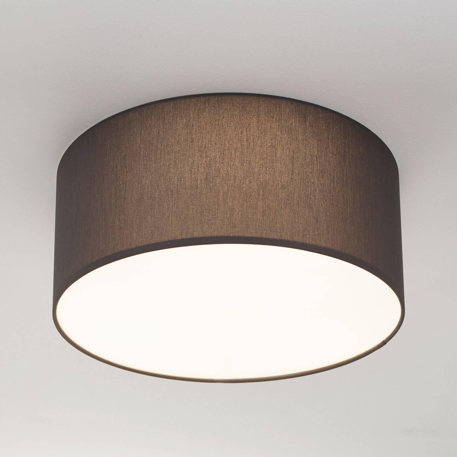 Leisteengrijze plafondlamp Mara, 40 cm