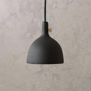 Menu Cast LED-Hängeleuchte in Schwarz, Shape 2