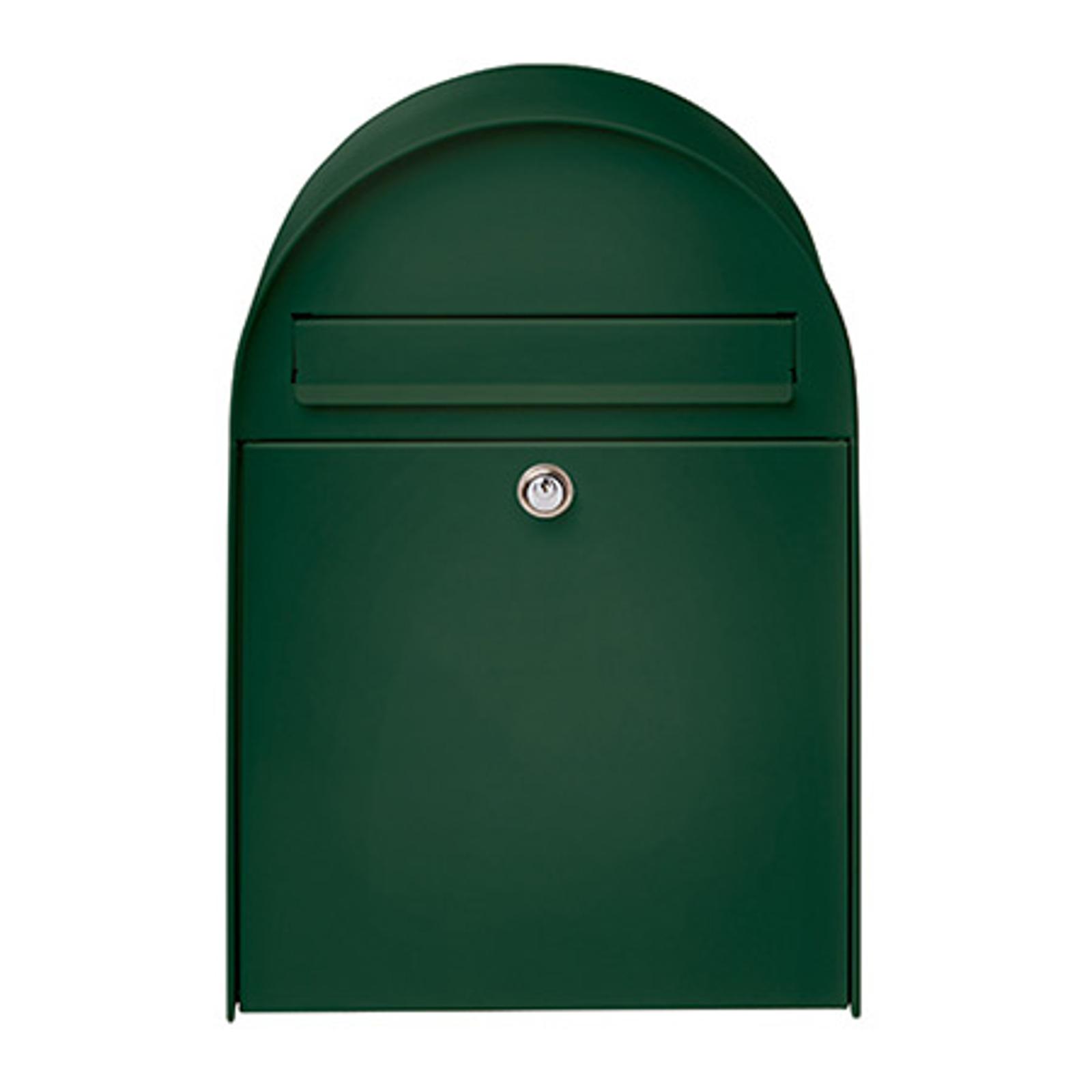 Stor postkasse Nordic 680 i grønn