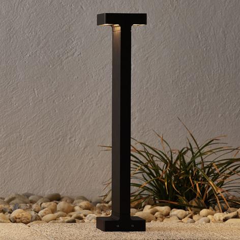 Tummanruskea LED-ulkoseinävalo Casting T 100
