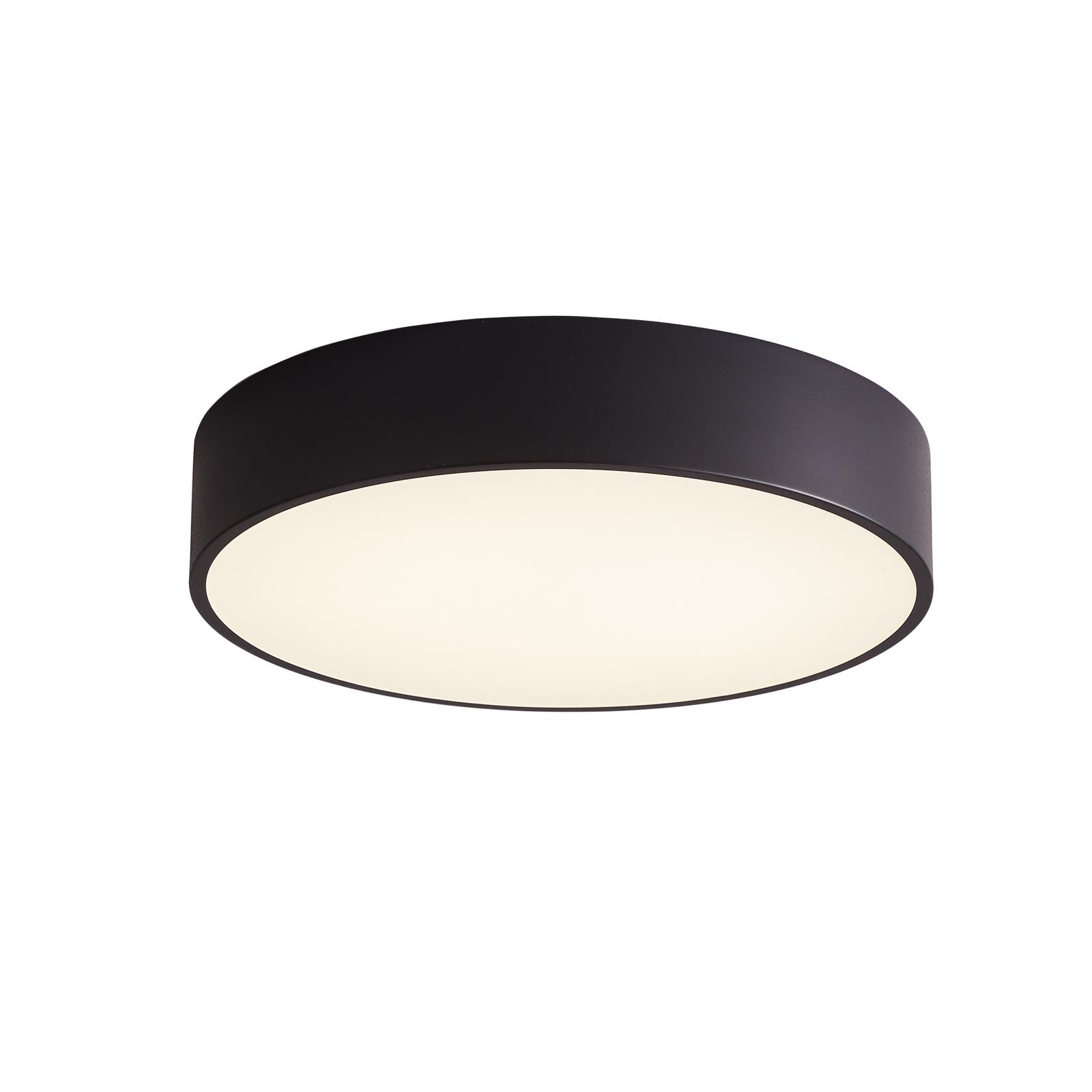 Arcchio Noabelle LED-taklampe, svart, 40 cm