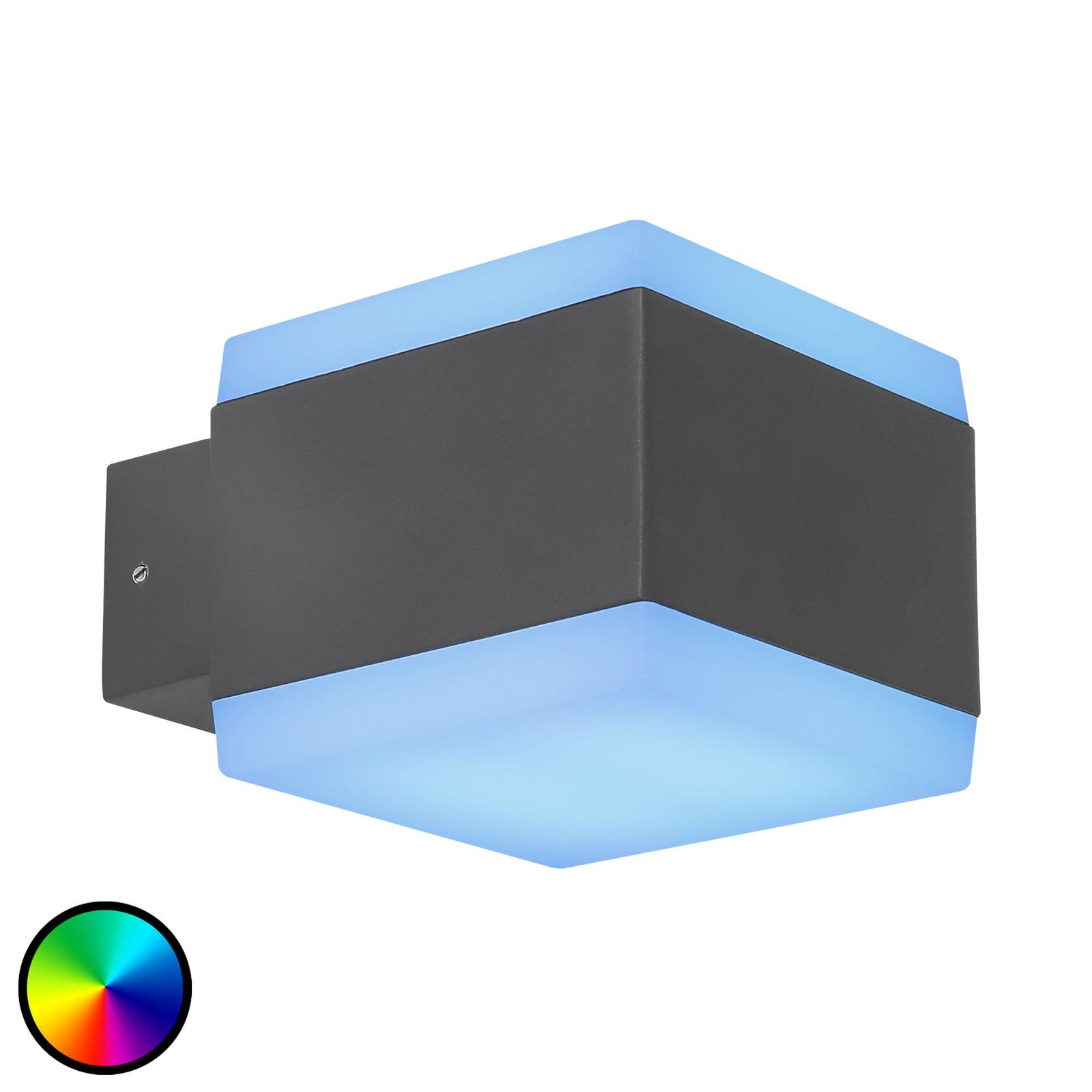 Kinkiet zewnętrzny LED Slice Tuya-Smart RGBW CCT