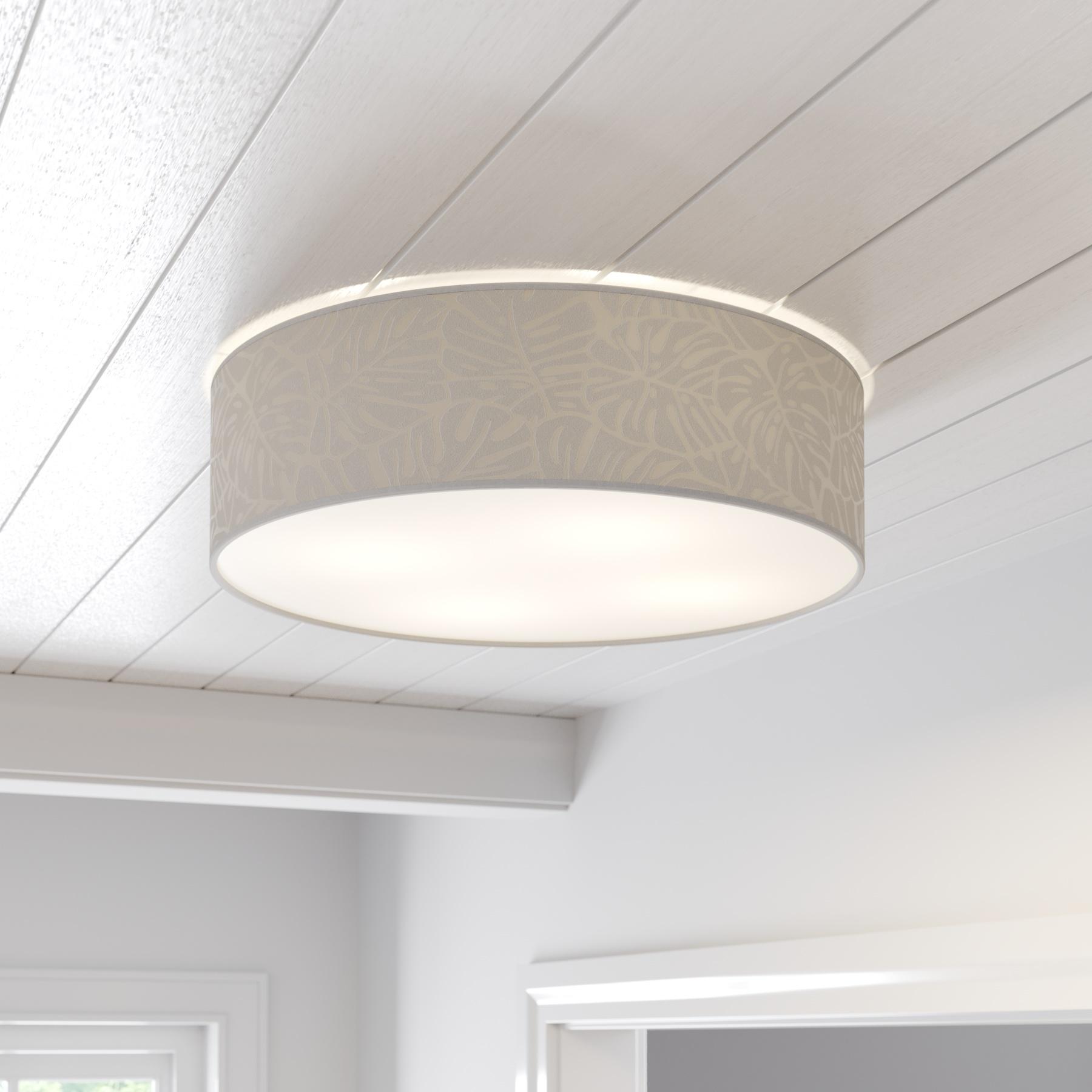 Lampa sufitowa Hierro z przesłoną okrągła Ø 58 cm