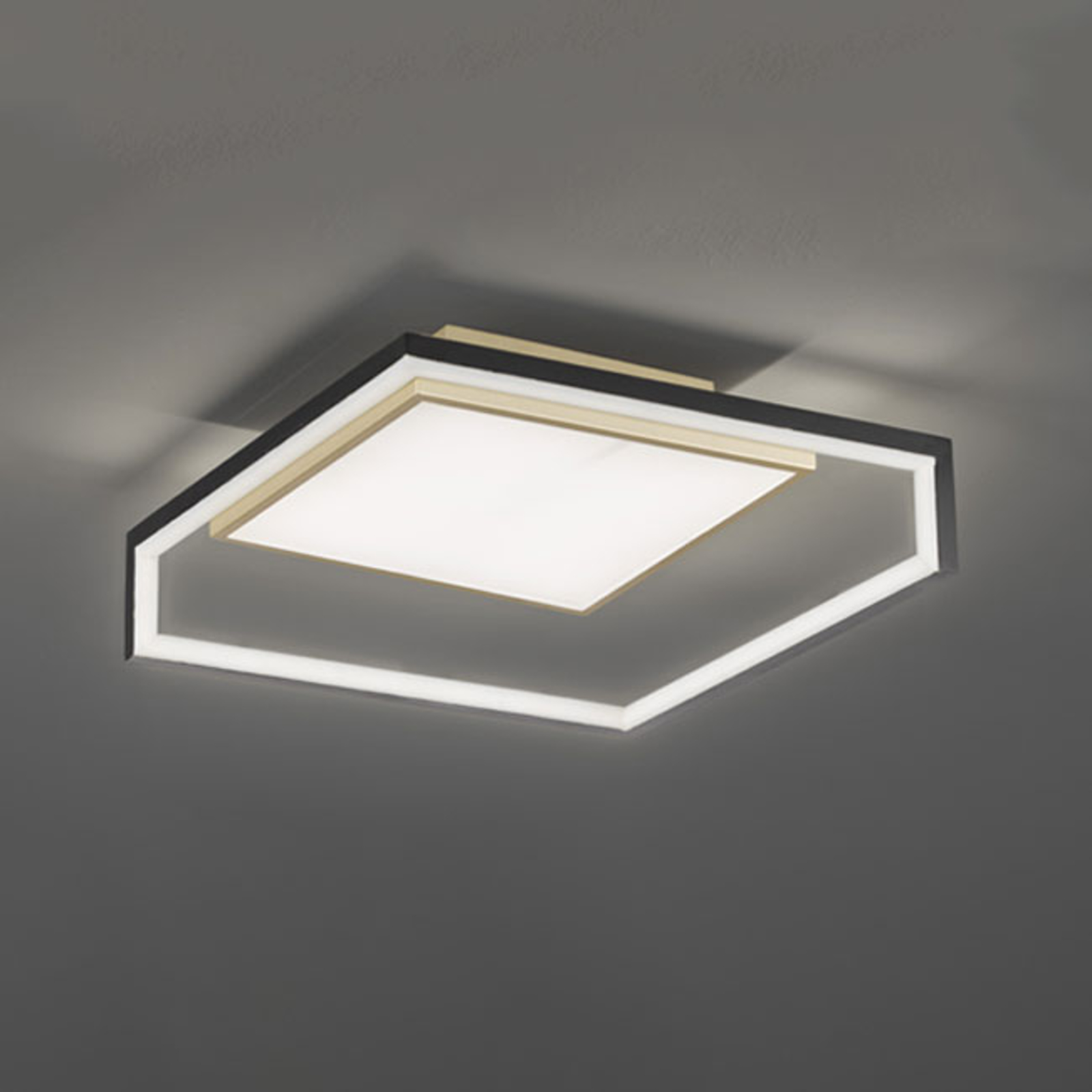 LED-Deckenleuchte Nala in modernem Design