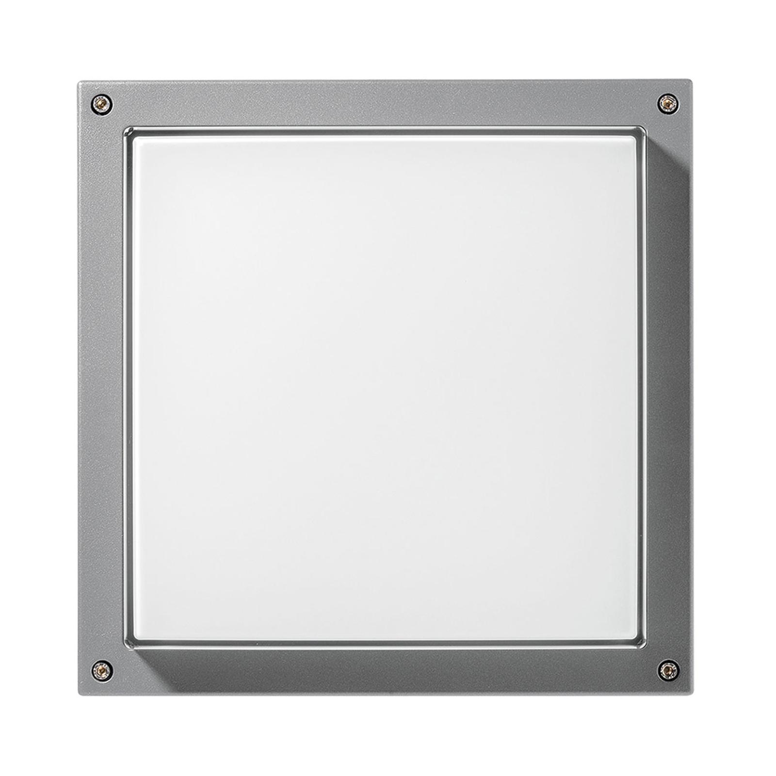 Applique Bliz Square 40, 3000K grise dimmable