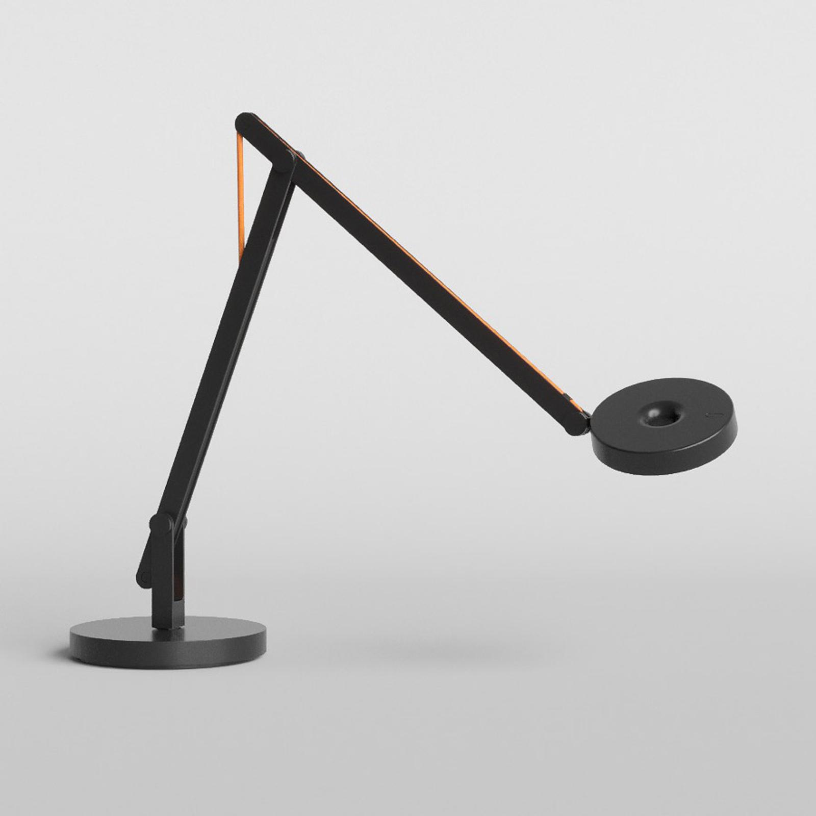 Rotaliana String T1 Mini LED-Tisch schwarz, orange