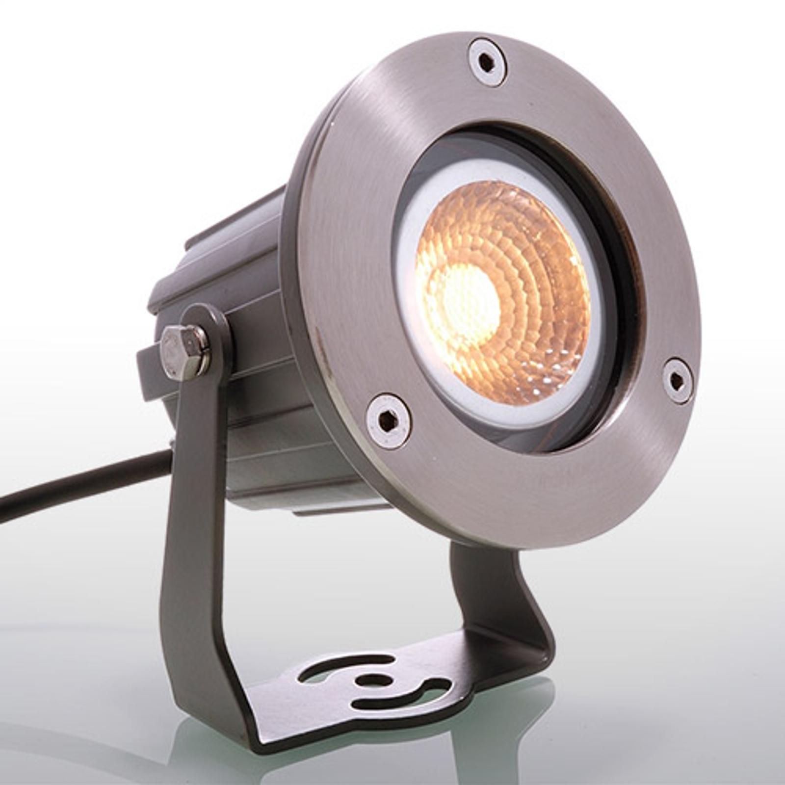 Power-LED-Spot Cob til ute.