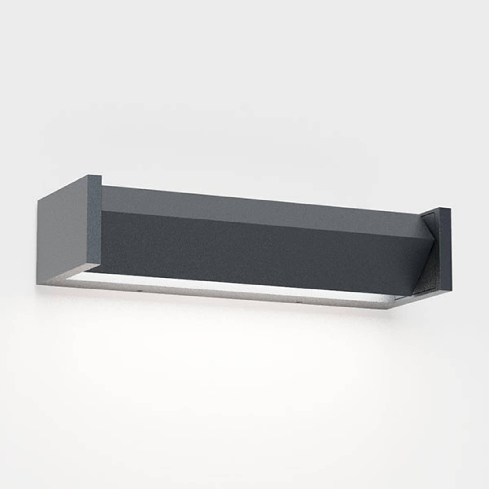 IP44.de Slat One LED-Außenwandleuchte, anthrazit