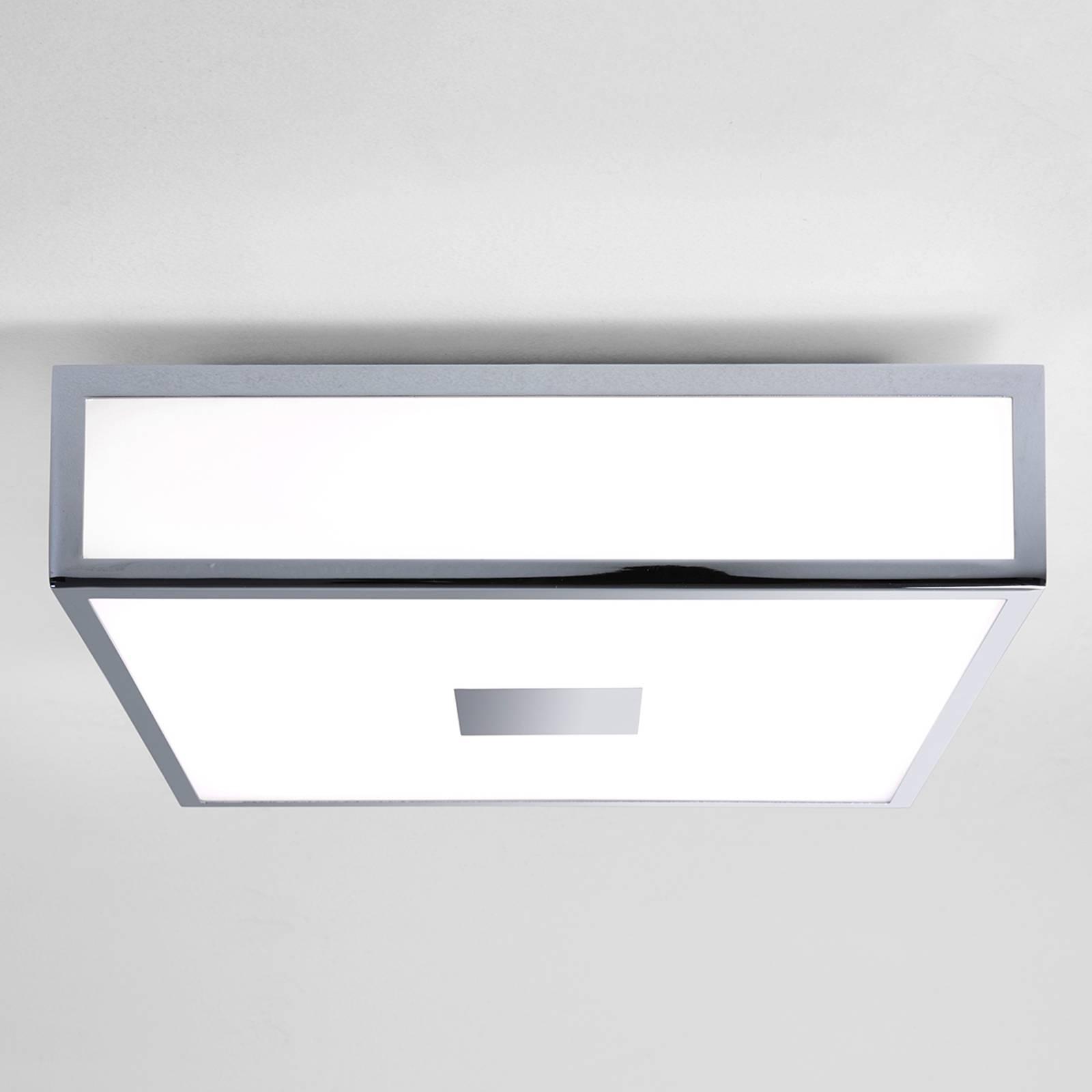 Mashiko, kanciasta lampa sufitowa LED z IP44