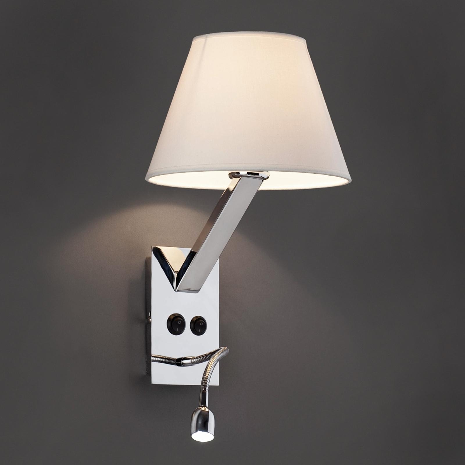 Lámpara de pared LED Moma-2, blanco