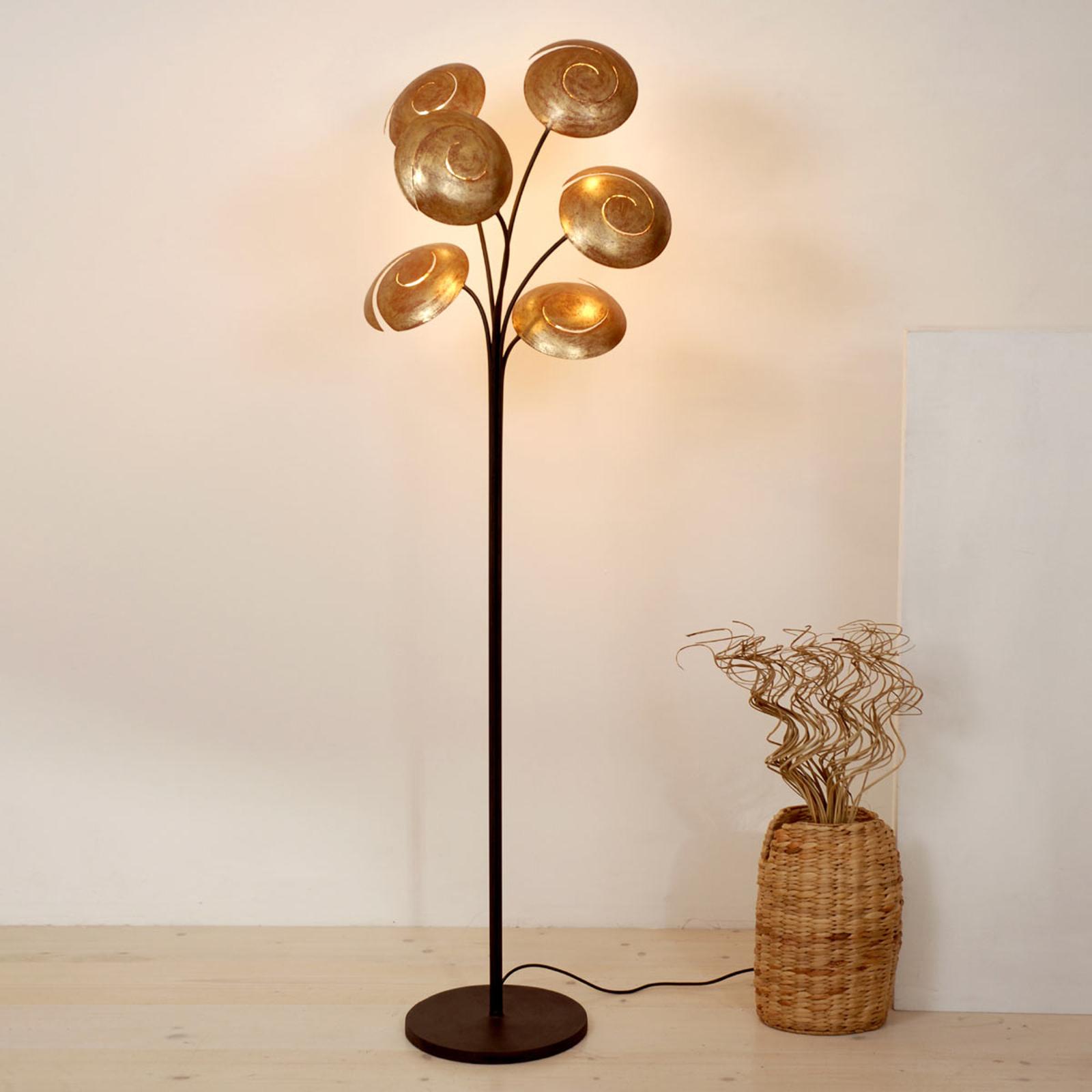 6-punktowa lampa stojąca Nuvola