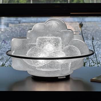 Stojací lampa Profiterolle jako světelná dekorace