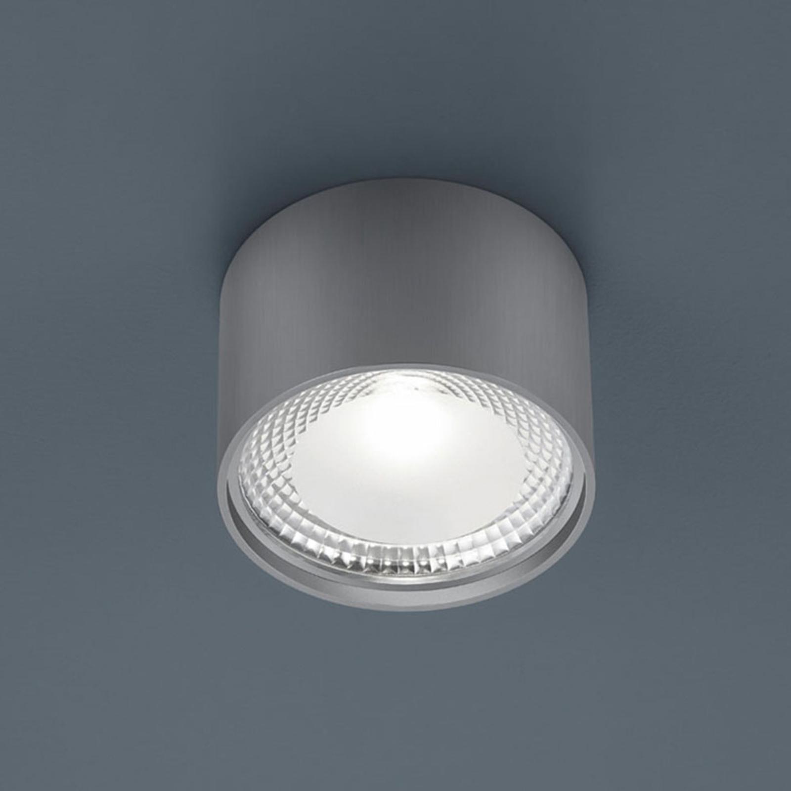 Helestra Kari LED plafondlamp, rond, nikkel