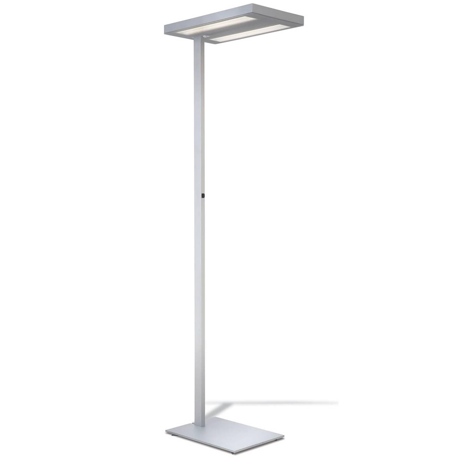 Lampa stojąca do biura Free-Floor biała