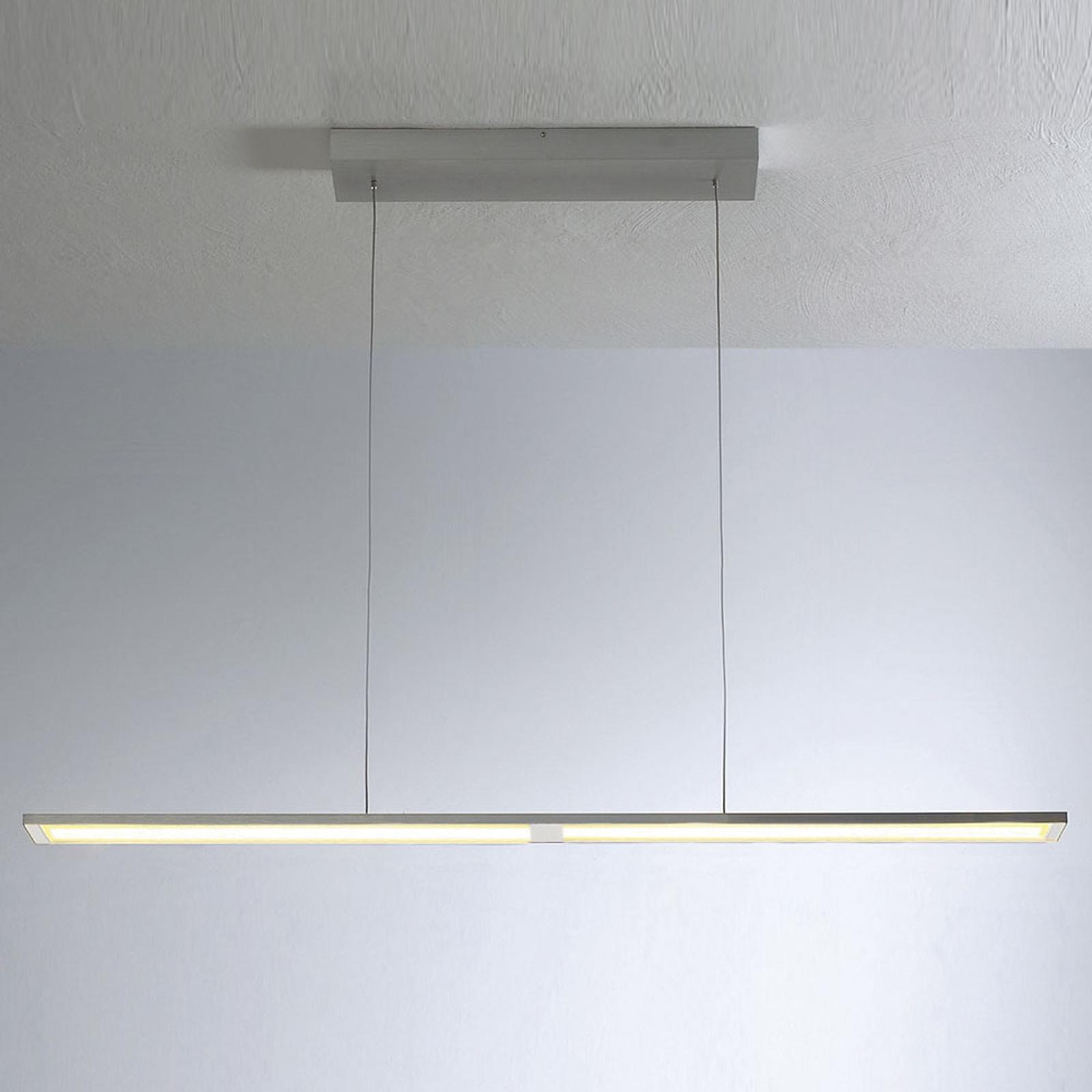Bopp Fly LED-hængelampe, 115 cm, justerbar, alu