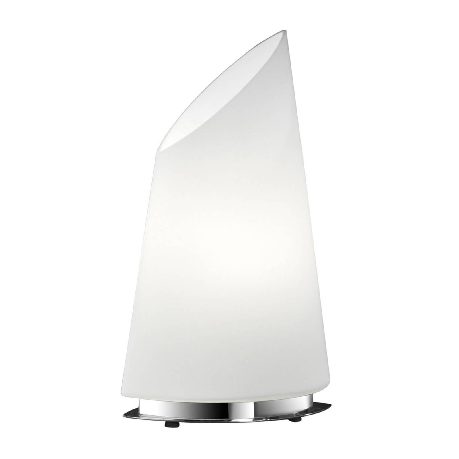 BANKAMP Sail lampe à poser en verre, 42 cm, dim
