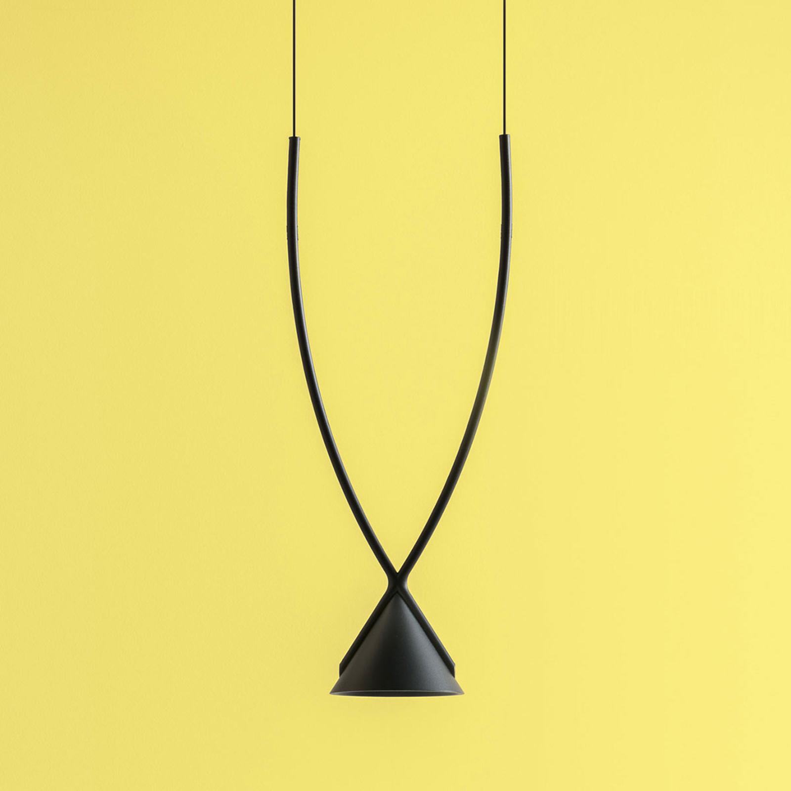 Axolight Jewel LED závěsné svítidlo 1zdr černé