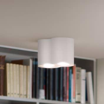 Philips Hue White Ambiance Pillar 2 lampor vit